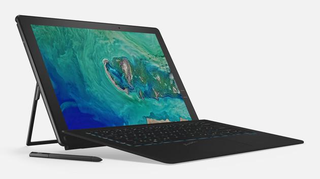 Acer Switch 7 Black Edition: Das erste passiv gekühlte 2‑in‑1 mit Nvidia GeForce
