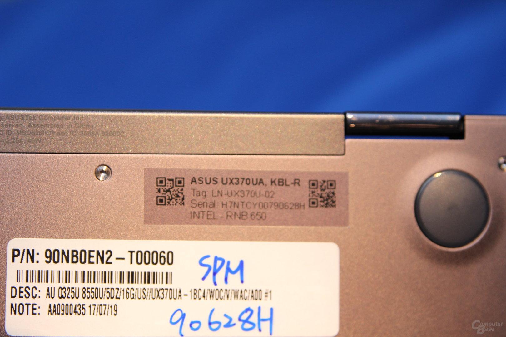 Asus Zenbook Flip S (UX370)