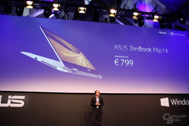Asus ZenBook Flip 14 ab 799 Euro