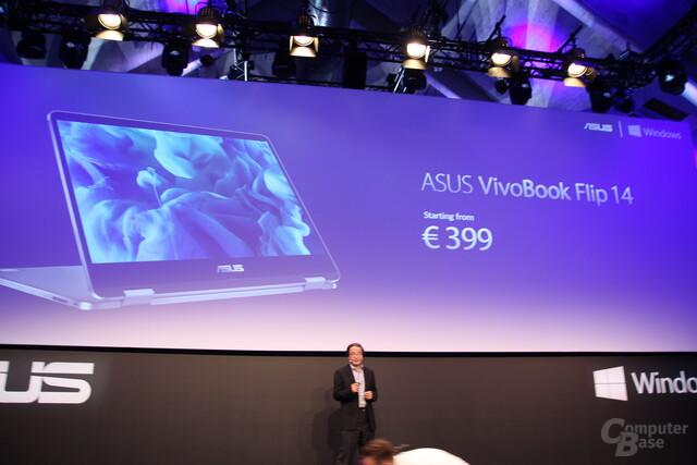 Asus VivoBook Flip 14 ab 499 Euro