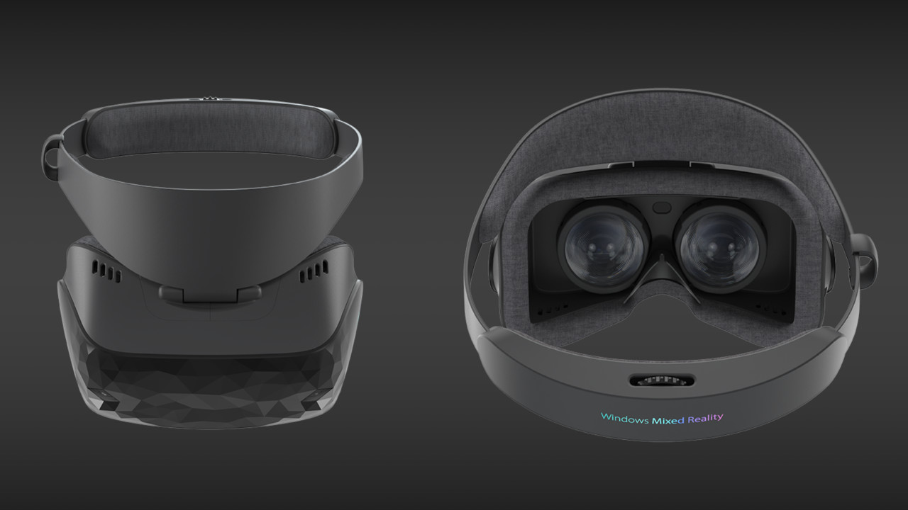 Windows Mixed Reality: Asus' VR-Headset wiegt unter 400 Gramm