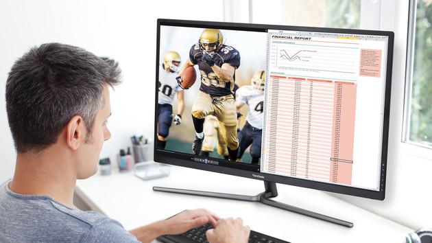 ViewSonic: Neue IPS-Monitore mit 31,5 Zoll zum kleinen Preis
