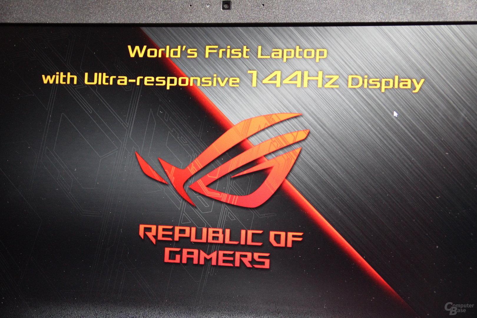 Asus ROG Chimera Gaming Notebook