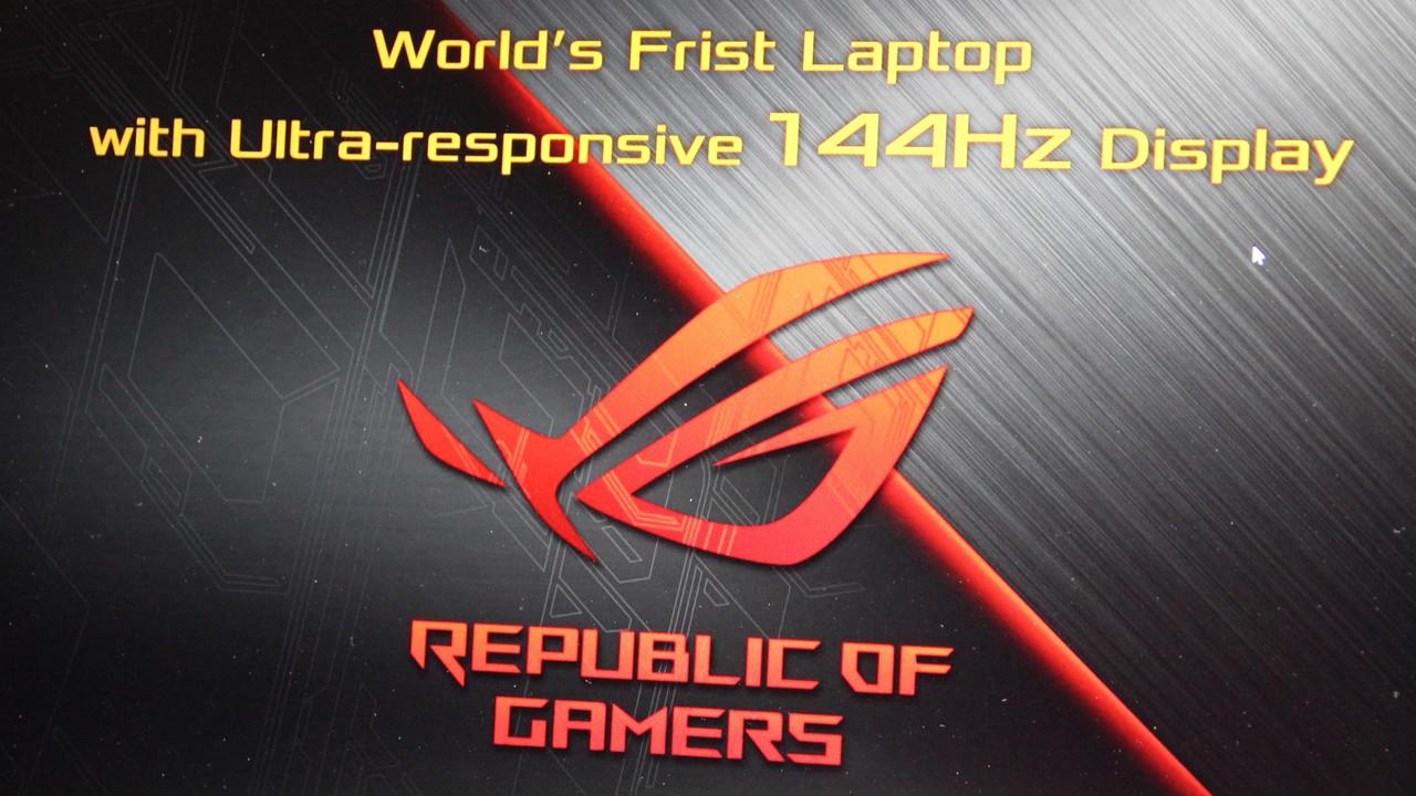 "Asus ROG Chimera: 17,3""-Desktop-Replacement mit 144 Hz, 7 ms & G-Sync"