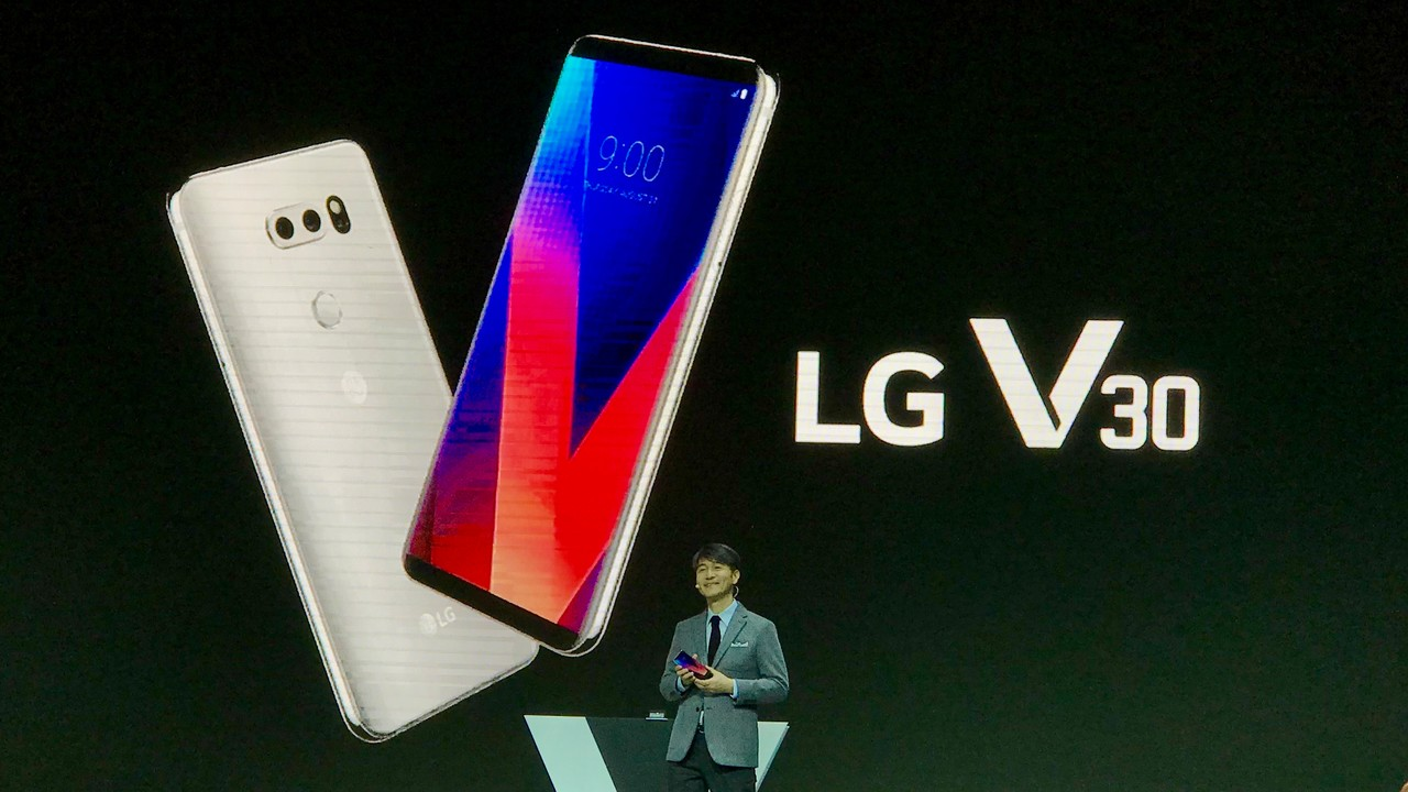 LG V30: Top-Smartphone mit POLED-Display kommt nach Europa