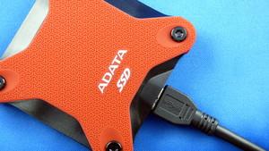 Adata SD600 im Test: Flotte externe SSD zum kleinen Preis