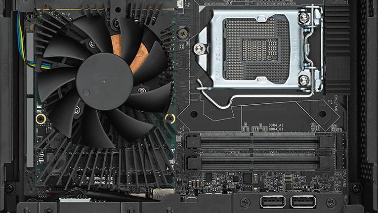 ASRock DeskMini GTX/RX: Mit MXM-Slot & 3× M.2 wächst der Kleinst-PC auf Micro-STX