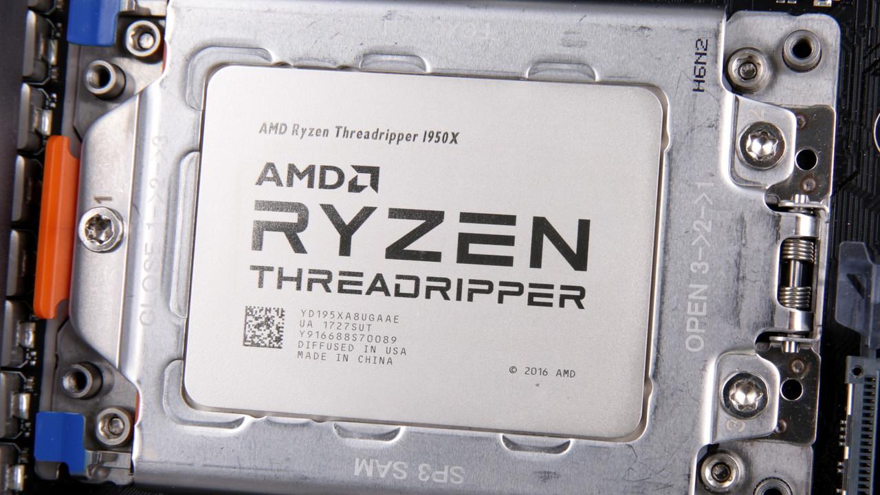 AMD: Ryzen Threadripper 1900X ab heute für 559 Euro erhältlich