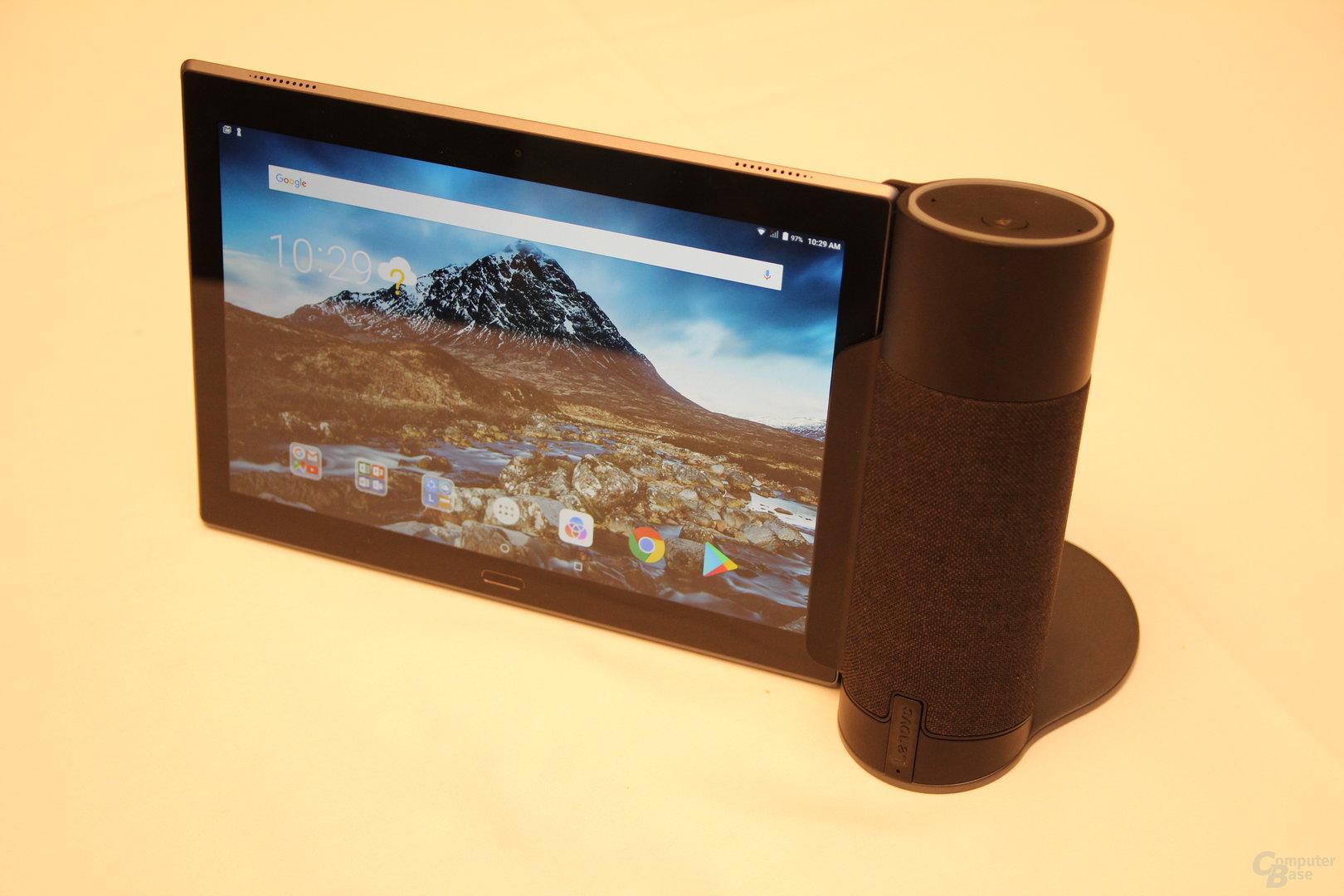 Lenovo Tab 4 mit Alexa Home Assistant