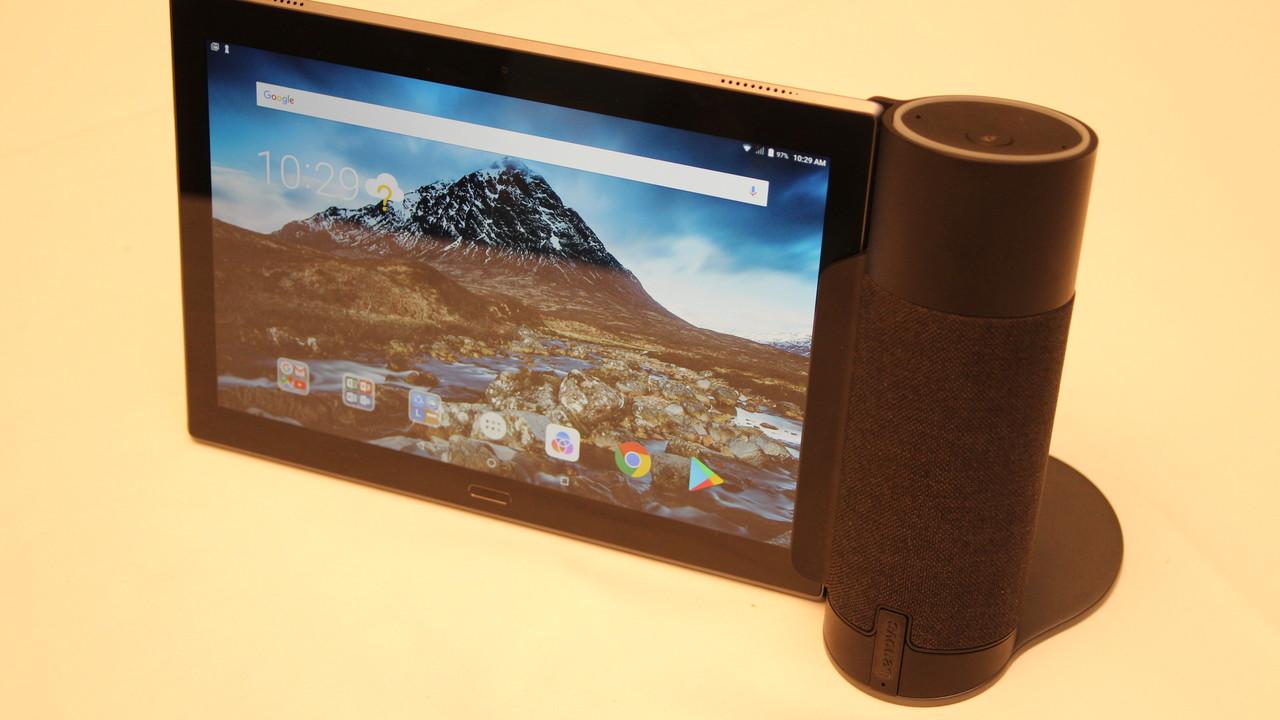 Lenovo Tab 4: Alexa wird der neue Home Assistant