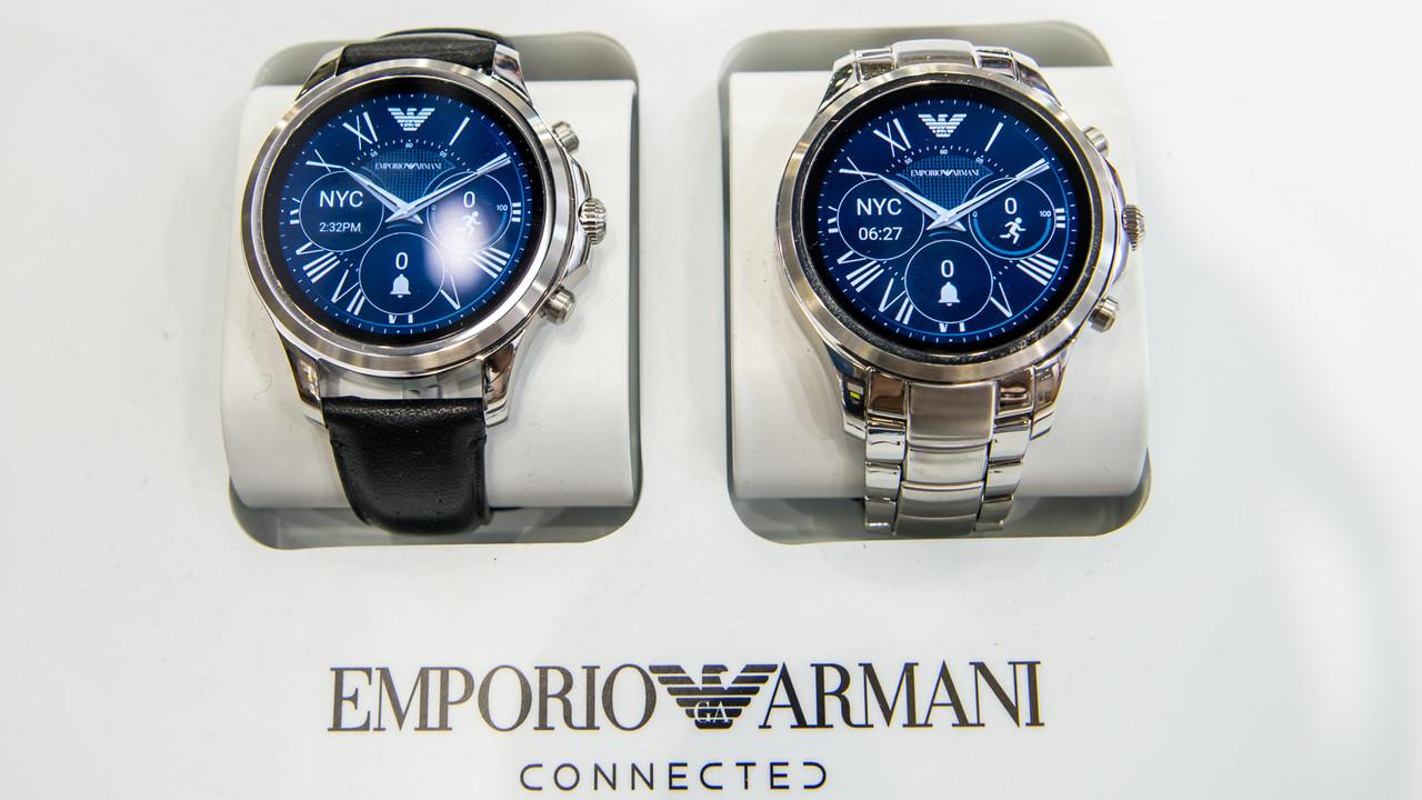 Fossil Group: Smartwatches von Michael Kors, Armani und Co.