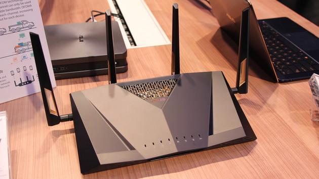 WLAN-ax-Router: Asus RT-AX88U zeigt besseres ac-WLAN mit 4,8 Gbit/s