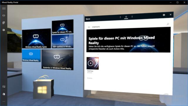 Vor dem offiziellen Start herrscht noch Leere im Windows Store