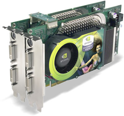 GeForce 6800 Ultra PCI Express im Tandem-Betrieb