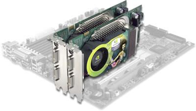 nVidias Tandem auf Intel E7525 Mainboard