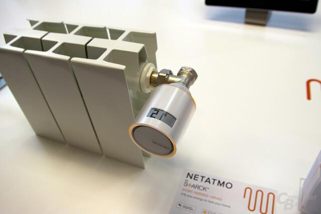 Netatmo Smartes Heizkörperthermostat