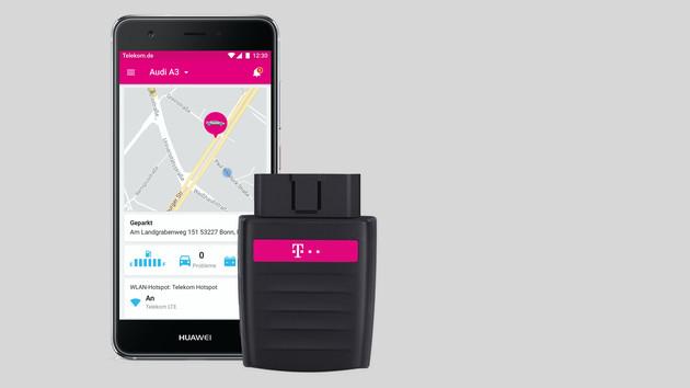 Telekom CarConnect: Auto-Hotspot mit 10GB und Pkw-Diagnostik per App