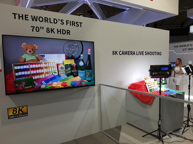 Sharp LC-70X500 als 8K-TV für den Massenmarkt