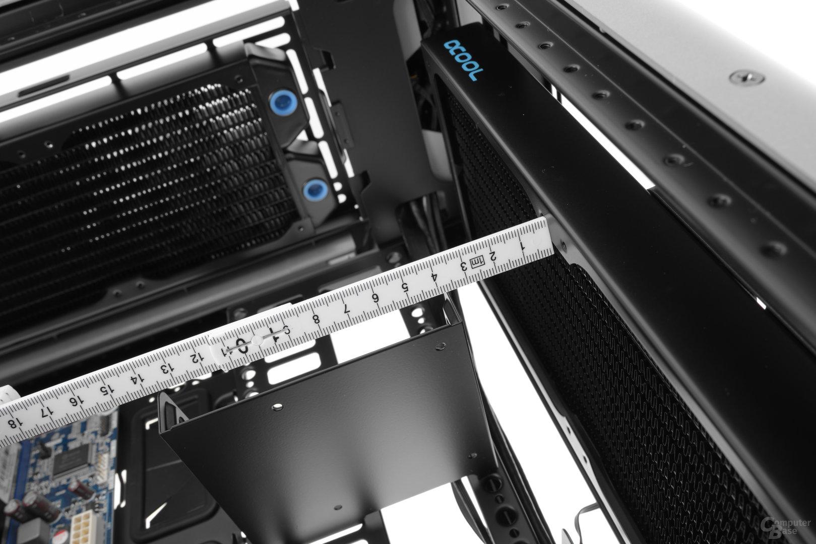 Cooler Master Cosmos C700P – Der Frontradiator darf ruhig dicker ausfallen
