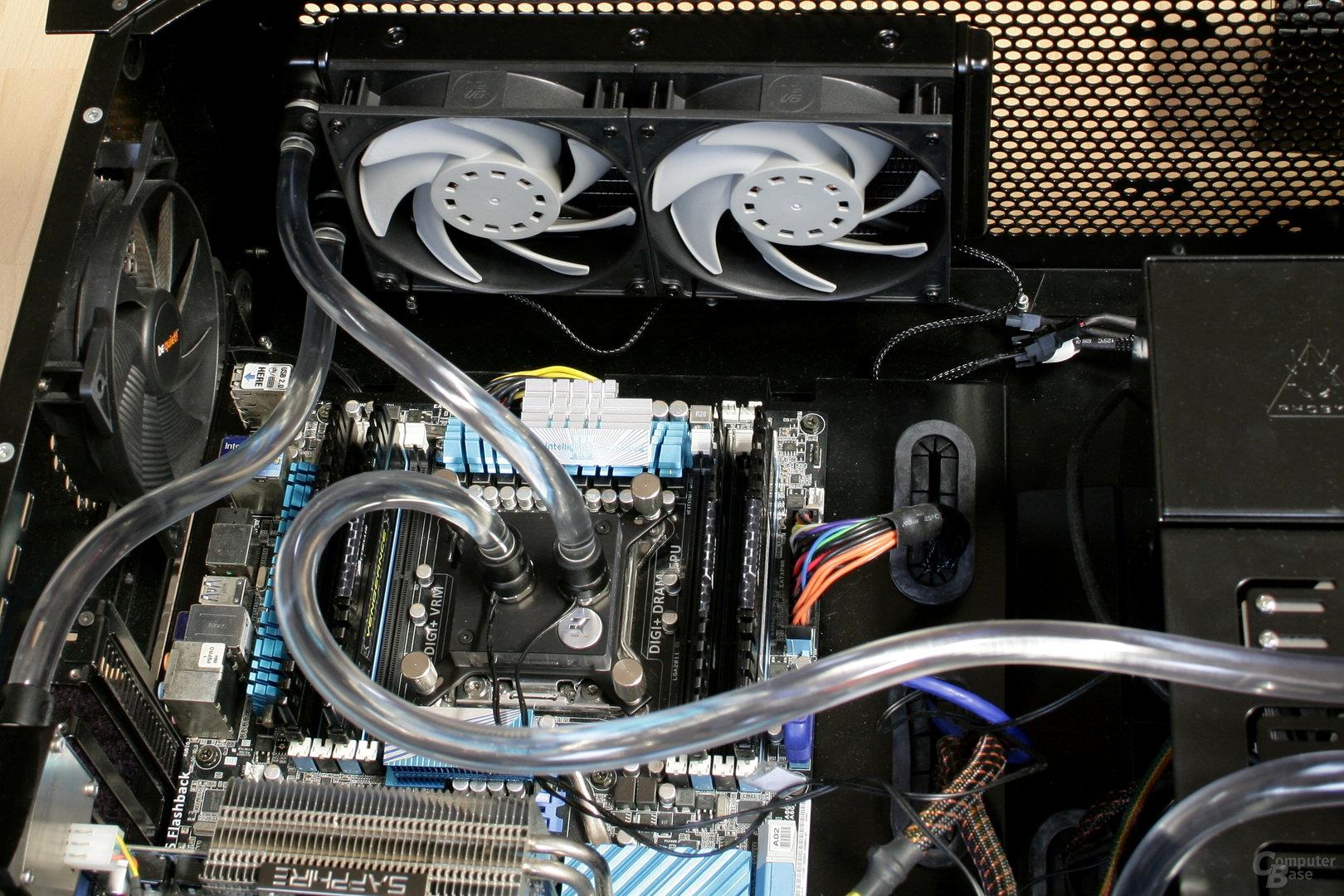EK Fluid Gaming: Kreislauf zur reinen CPU-Kühlung (ohne GPU-Kühler)