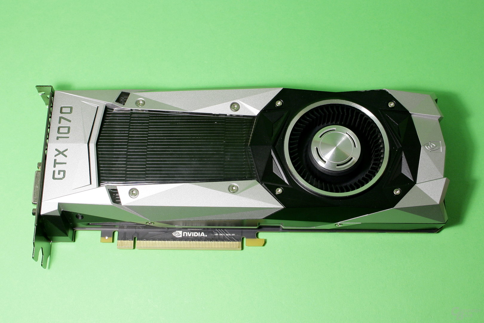Nvidia GeForce GTX 1070 im Referenzdesign