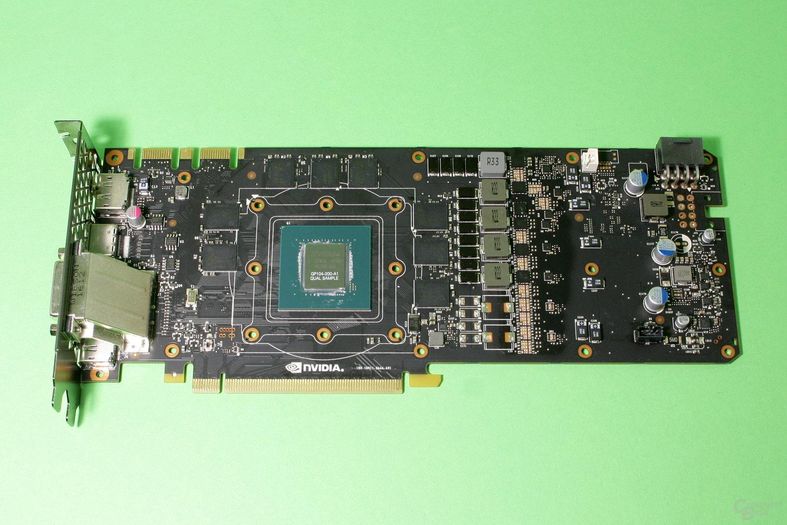 Nvidia GeForce GTX 1070 ohne Kühler