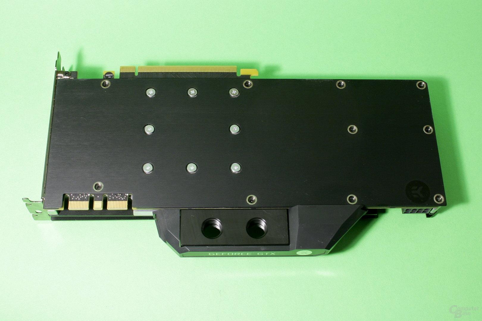 EK Fluid Gaming: GPU-Kühler auf der GTX 1070