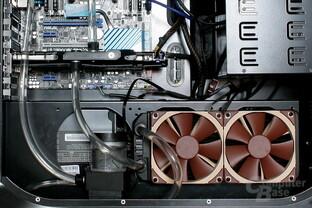 EK Fluid Gaming: Erweiterung um einen 240-mm-Radiator