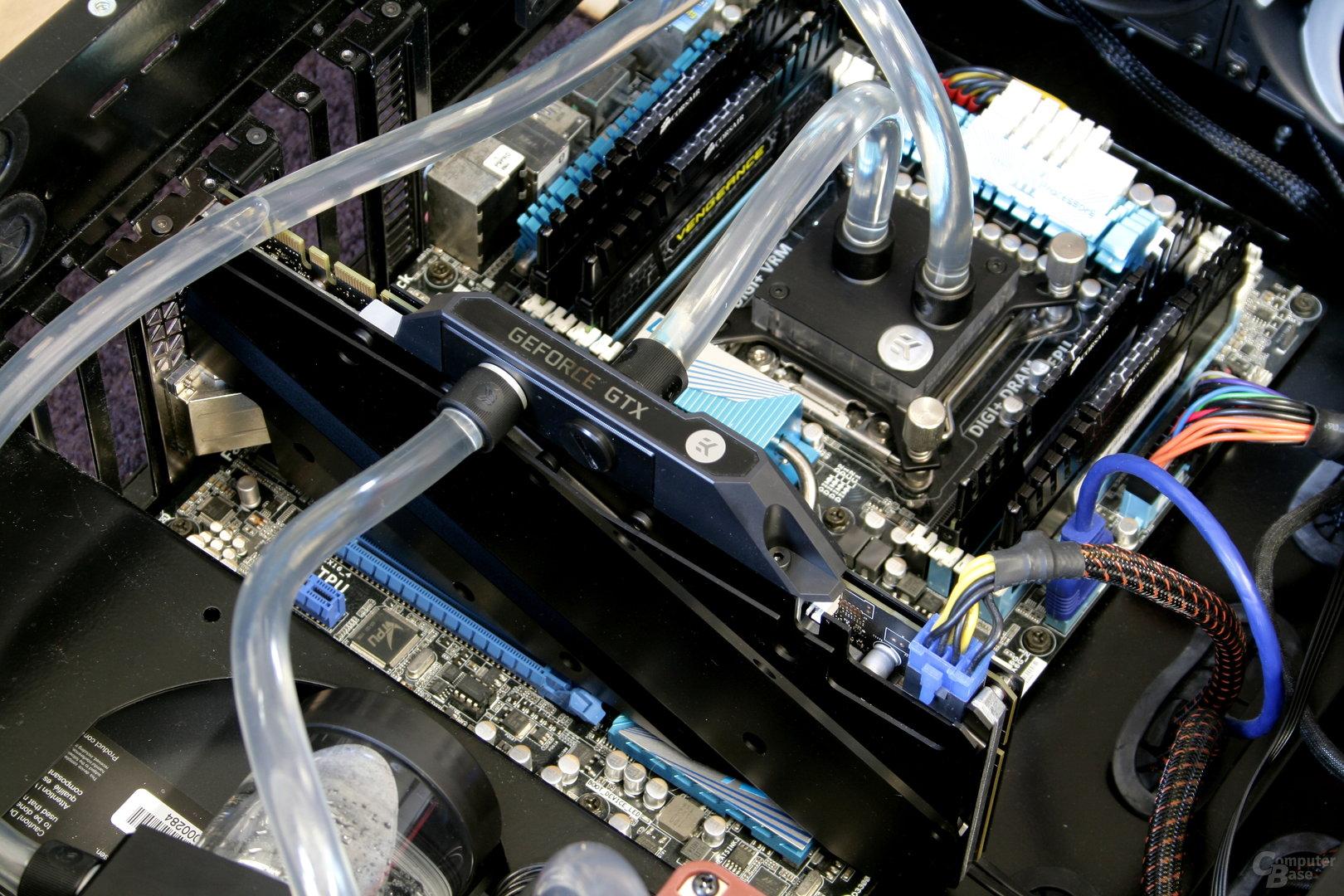 EK Fluid Gaming: Kreislauf zur CPU- und GPU-Kühlung