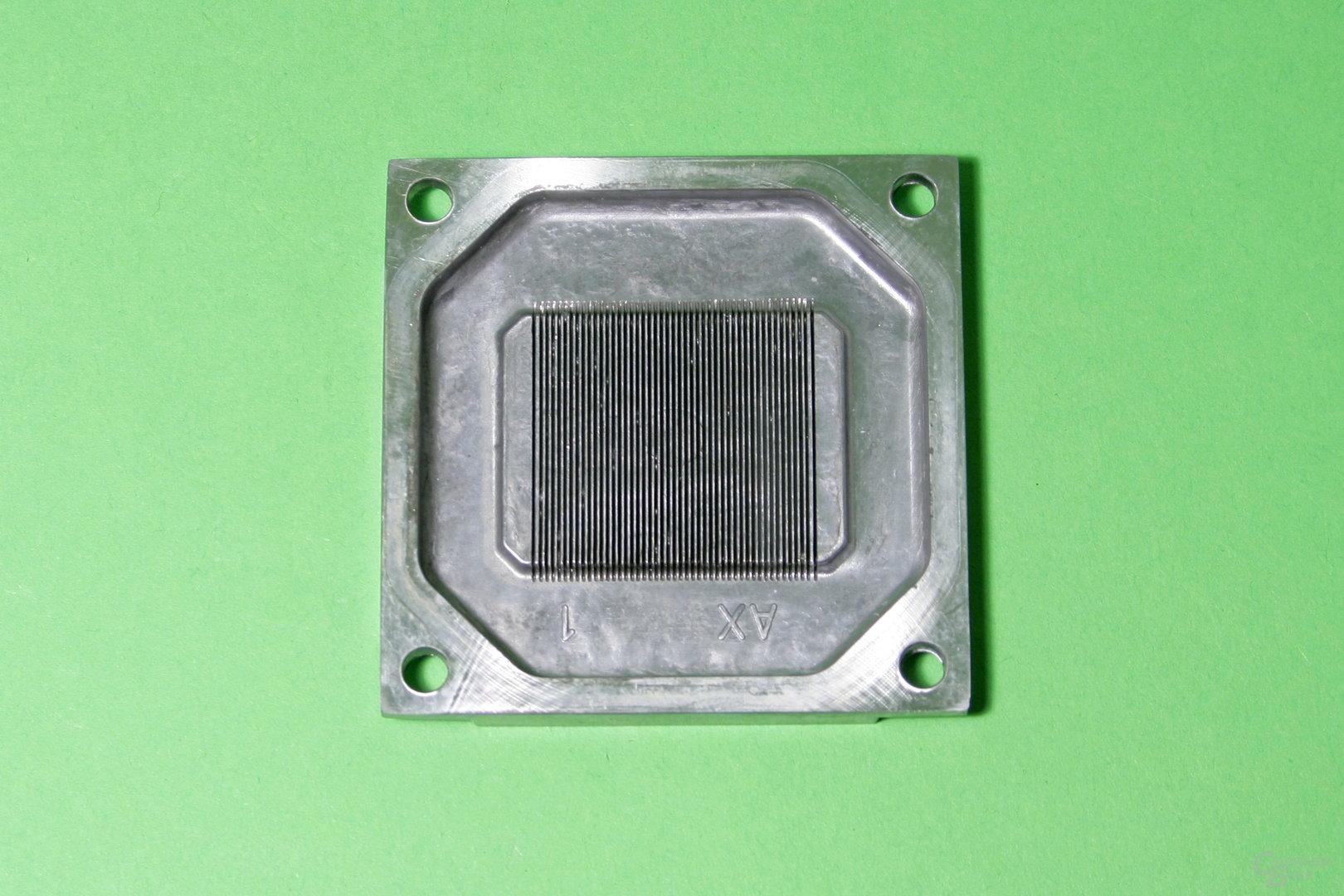 EK Fluid Gaming: Innenansicht des CPU-Kühlers