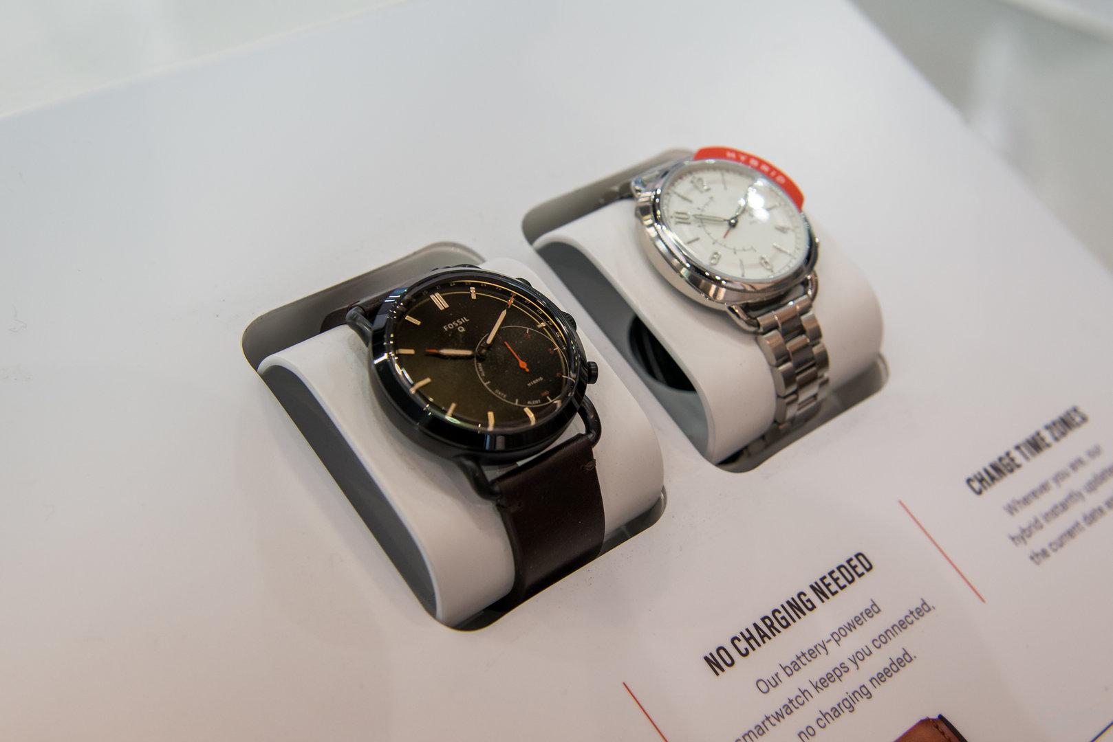 Hybride Smartwatches von Fossil