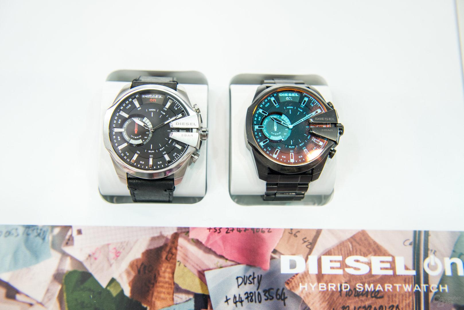 Hybride Smartwatches von Diesel