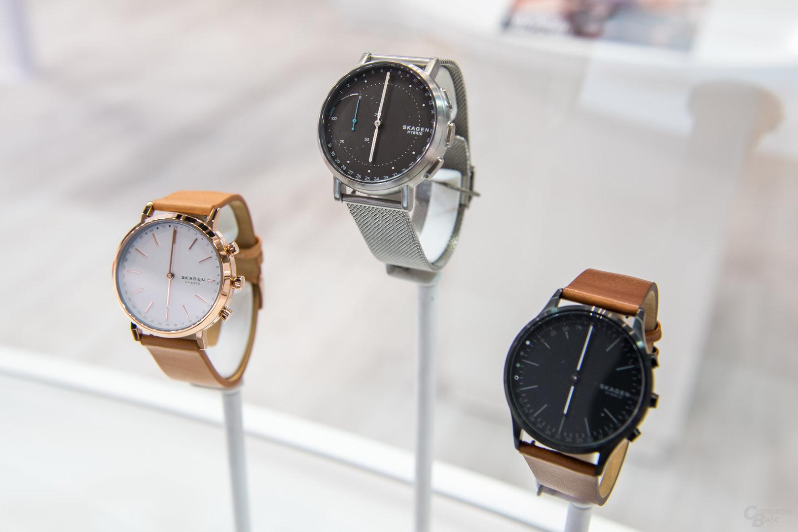 Hybride Smartwatches von Skagen