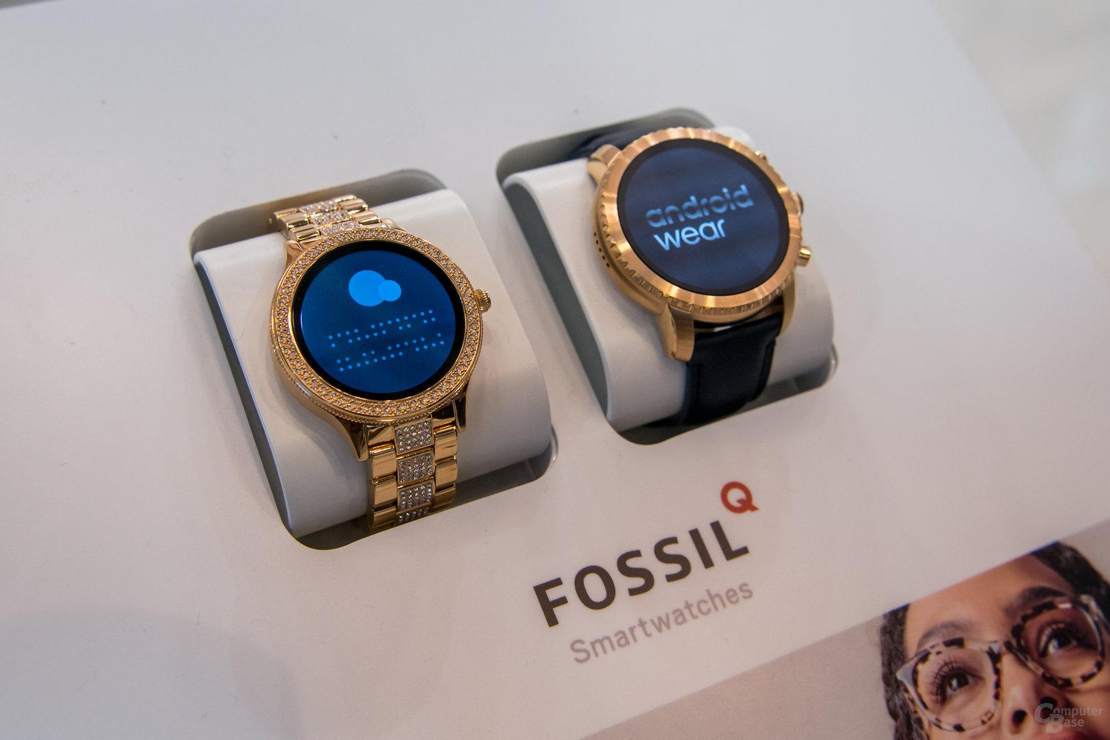 Fossil Q Venture und Q Explorist