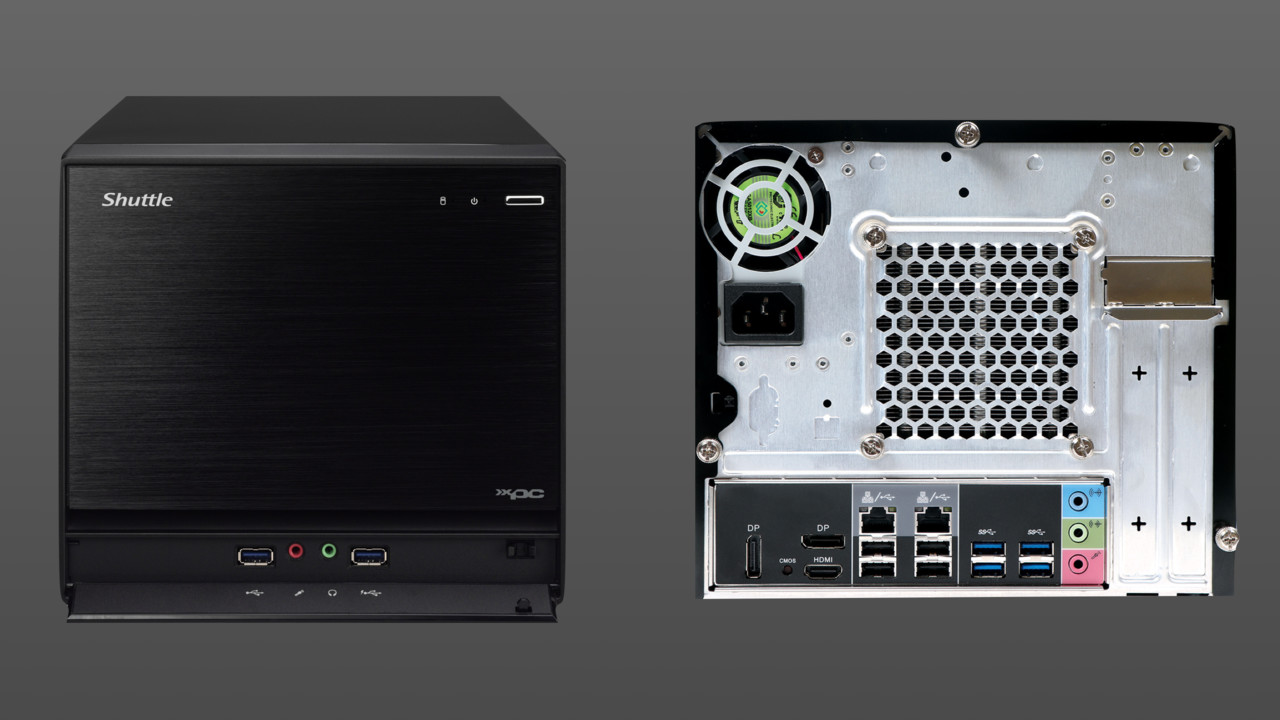 Shuttle XPC cube SZ270R8: Dual-LAN, 3× M.2 und Optane Memory im Würfel-Barebone