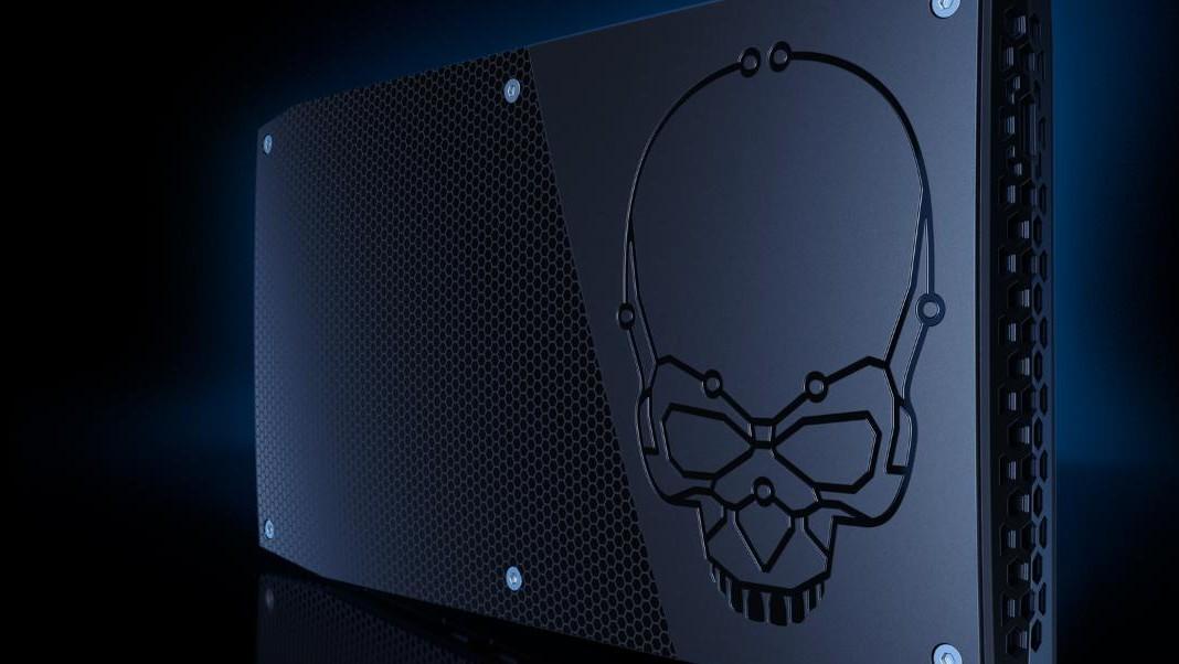 "Intel NUC: Mit 28-Watt-Coffee-Lake inkl. Iris und als ""Skull Canyon"""