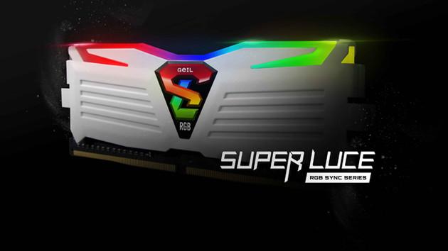 GeIL Super Luce RGB Sync: Leuchtender DDR4-RAM mit RGB-LEDs und Aura Sync