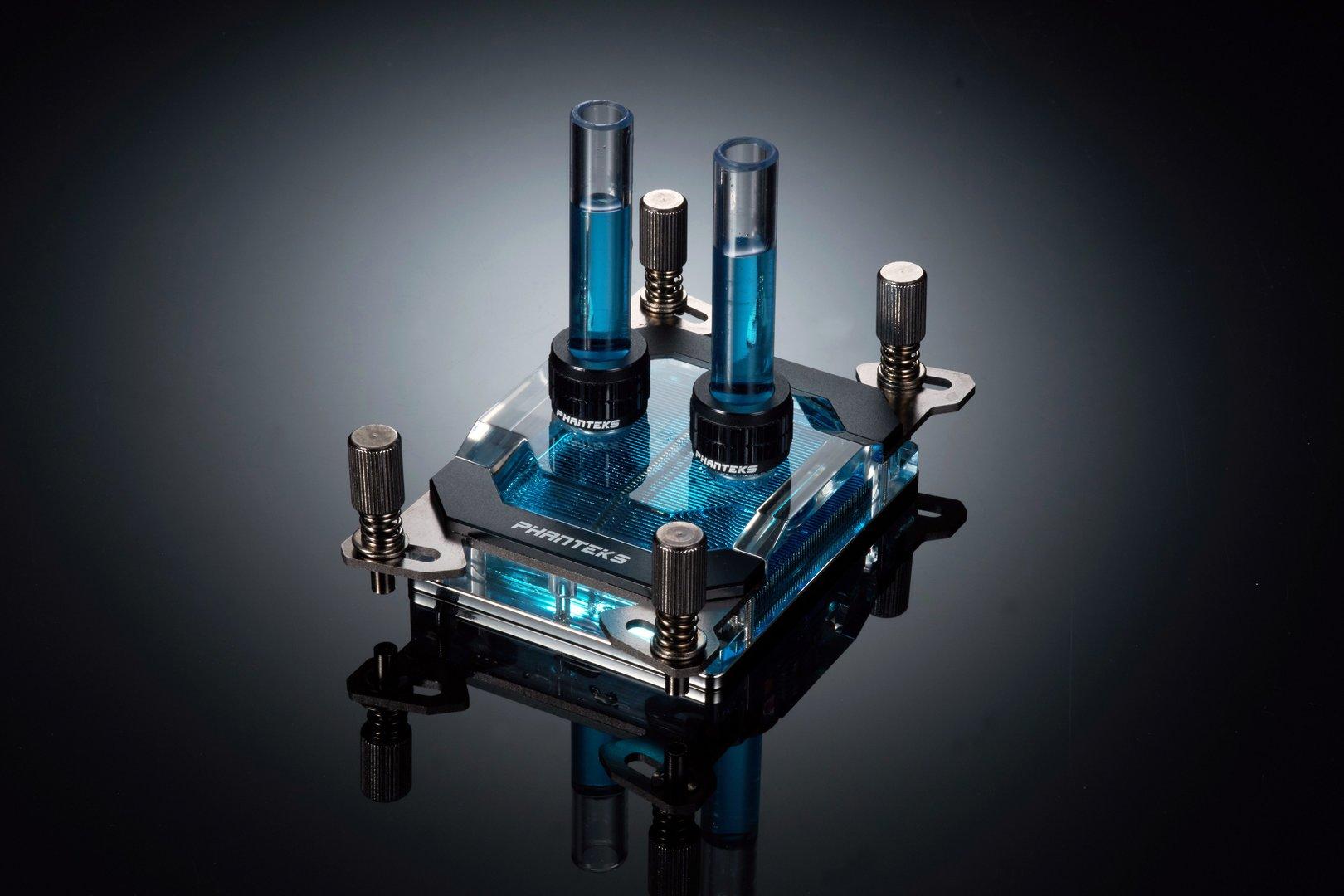 Phanteks Glacier C399a: CPU-Wasserkühler für AMD Threadripper