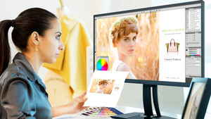 """ViewSonic VP2785-4K: Farbprofi mit UHD, """"HDR"""", USB Typ C und echten 10 Bit"""