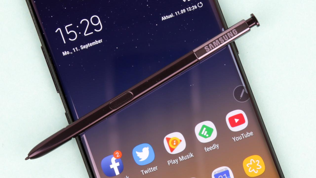 Samsung Galaxy Note 8 im Test: Gelungenes Comeback für gut betuchte Stylus‑Fans