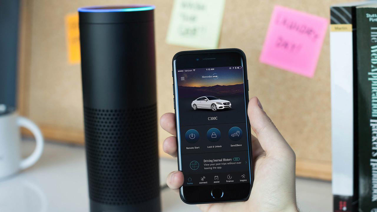 Mercedes me: Daimler setzt nach BMW ebenfalls auf Amazon Alexa