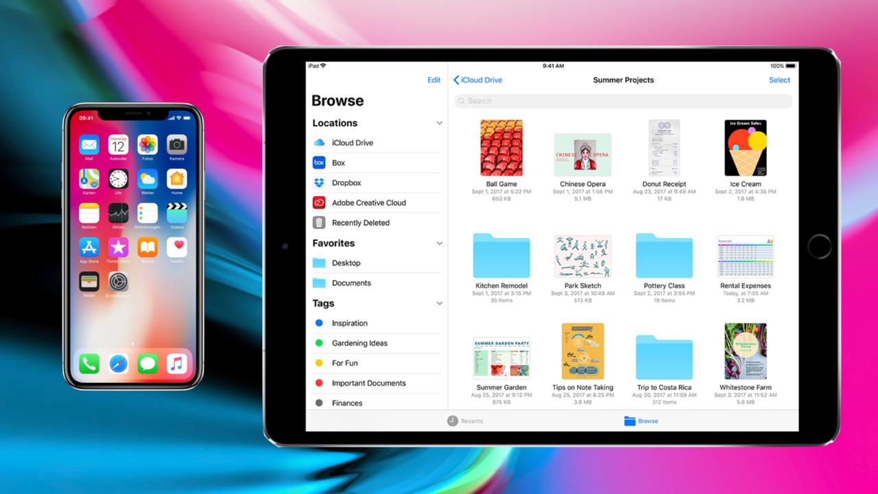 iOS 11 im Test: Für iPads und volle Speicher, nicht für kleine iPhones