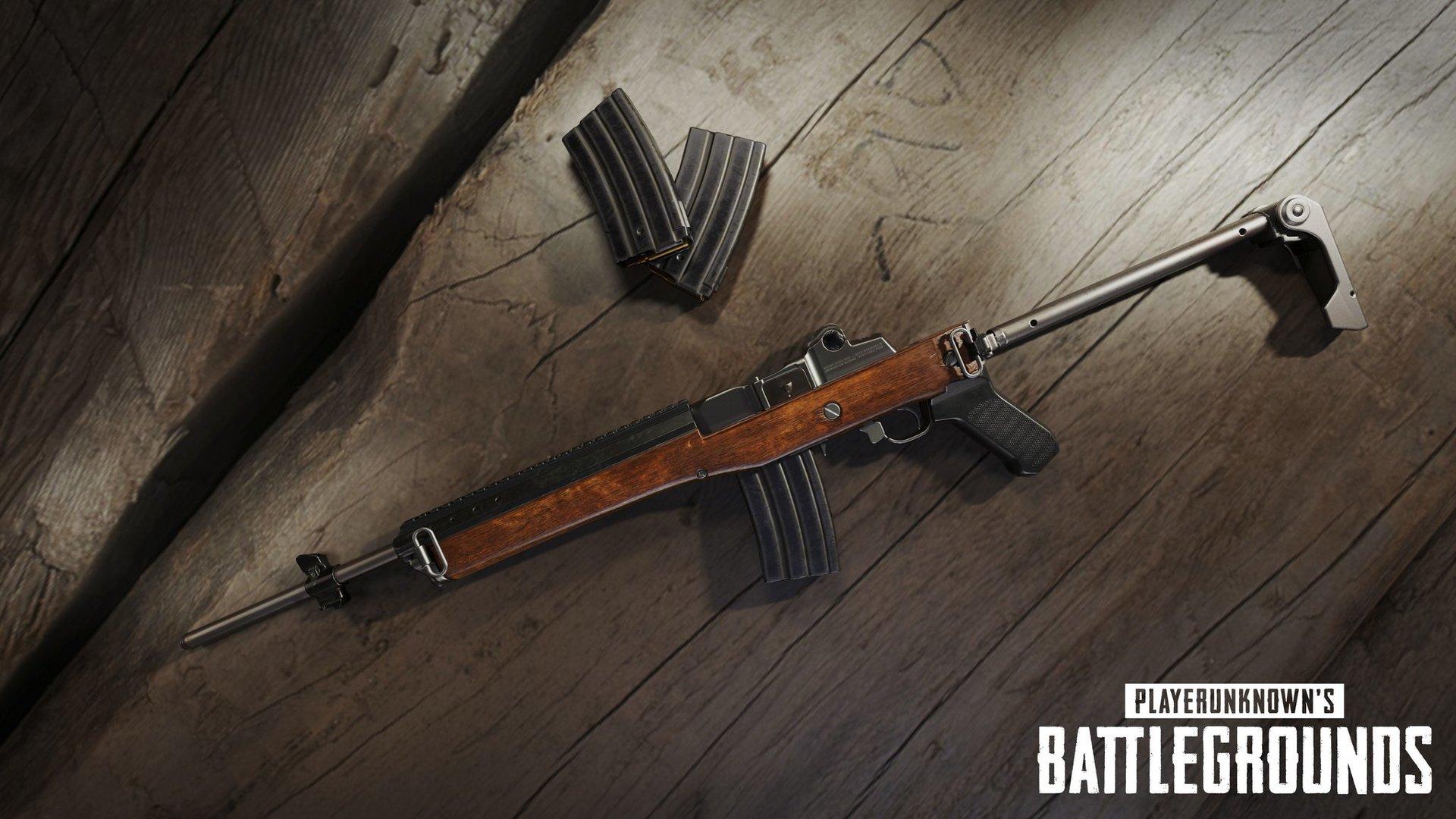 Mini-14 als neue Waffe