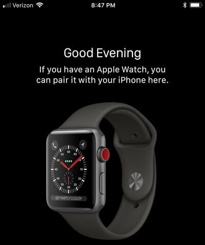Sieht fast so aus wie die alte: die Apple Watch der dritten Generation