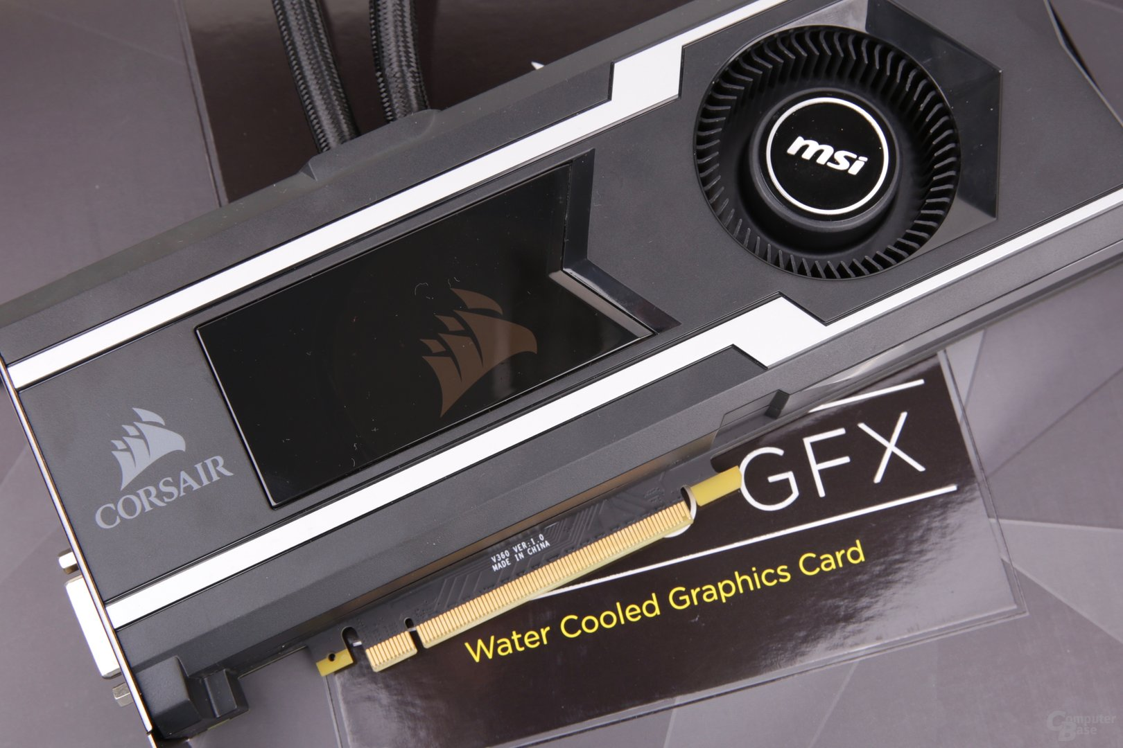 Die Corsair Hydro GFX GeForce GTX 1080 Ti im Test