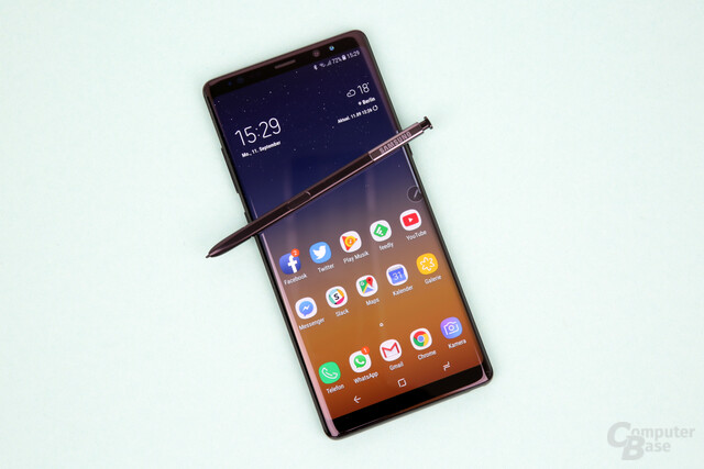 Samsung Galaxy Note 8 im Test