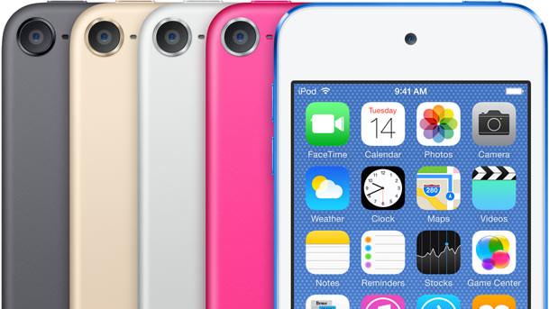 Apple: Neuer iPod touch nach zwei Jahren Stillstand
