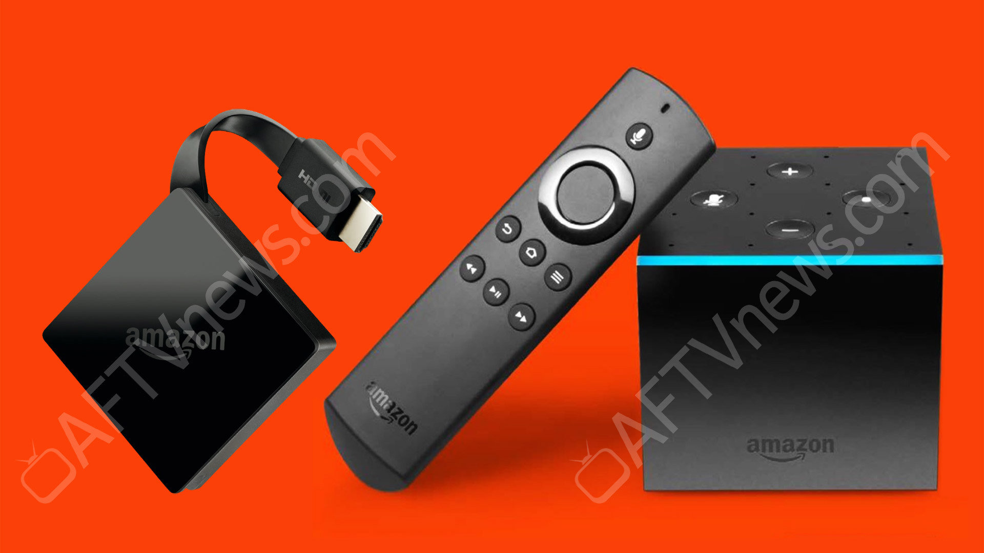 """Der neue """"Fire TV Stick"""" und Fire TV mit integriertem Echo Dot"""