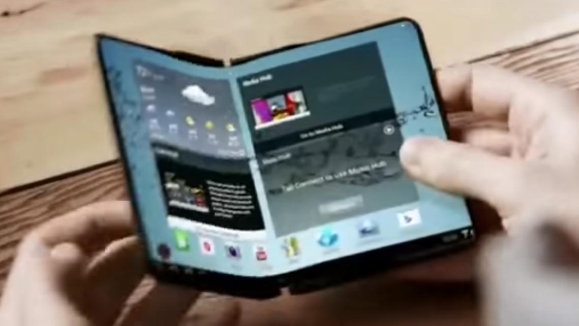 Samsung: Faltbares Smartphone soll 2018 auf den Markt kommen