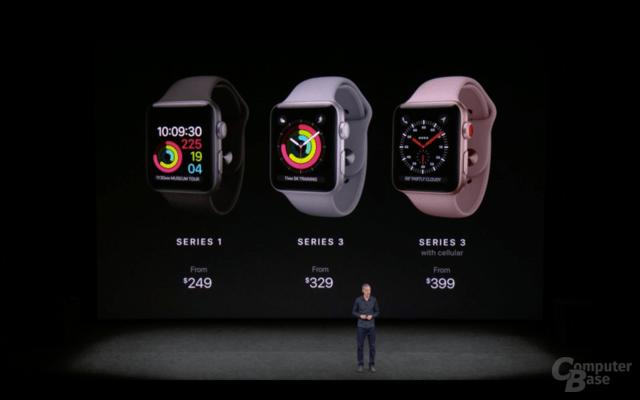 Apple Watch Series 3 – Preise